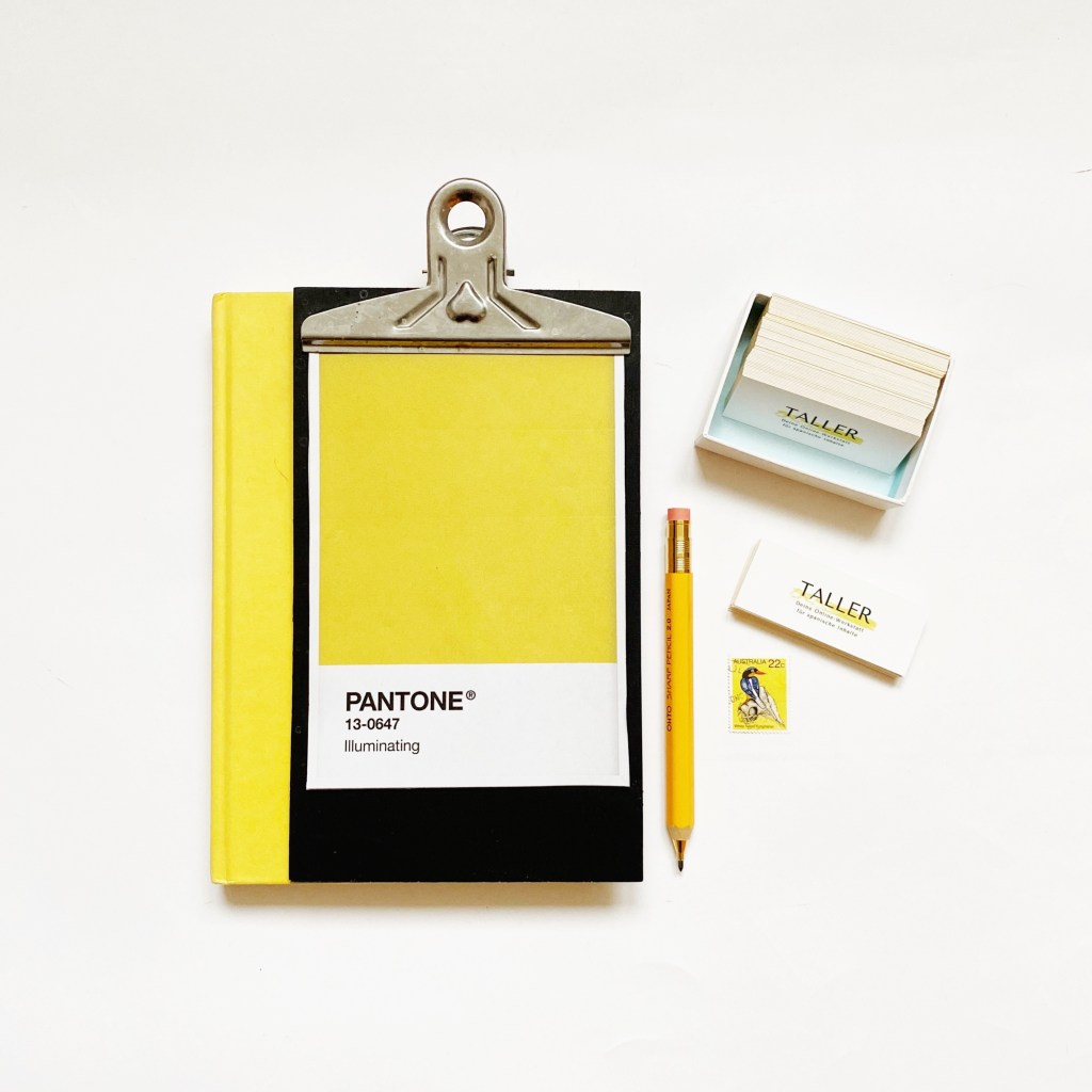 El amarillo: Color Pantone 2021