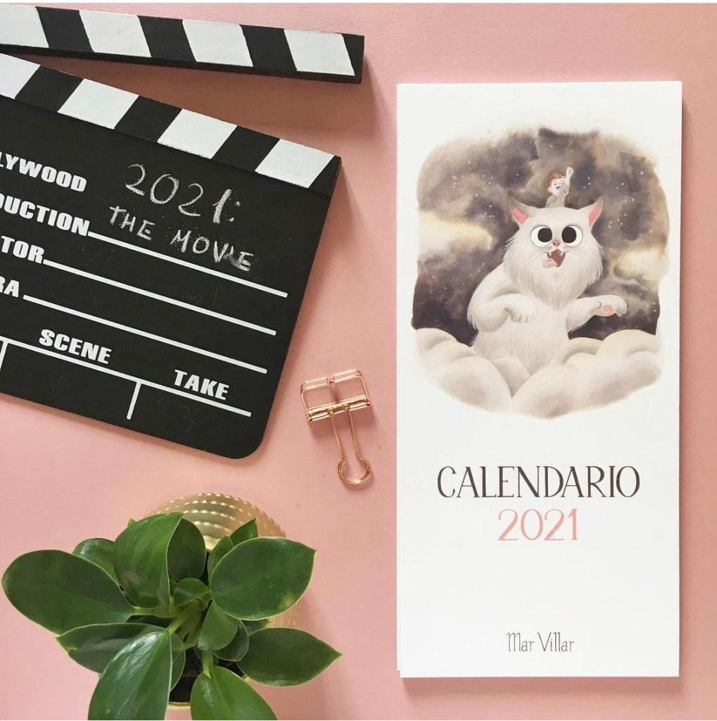 Mar Villar - Calendario de gatos